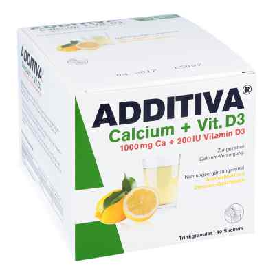 Additiva Calcium 1000 mg + Vitamine d 3 Pulver  bei apo.com bestellen