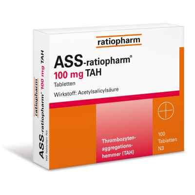 ASS-ratiopharm 100mg TAH  bei apotheke-online.de bestellen