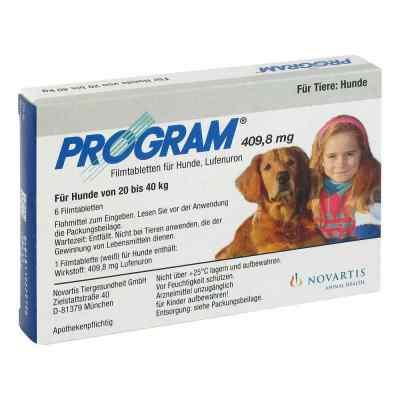 Program Tabletten für hunde 409,8mg 20-40kg  bei apo.com bestellen