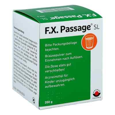 F.X. Passage SL Brausepulver  bei apo.com bestellen