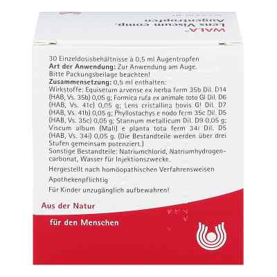 Lens Viscum compositus  Augentropfen  bei apo.com bestellen