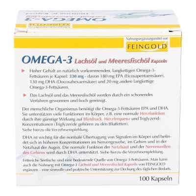 Omega 3 Lachsöl und Meeresfischöl Kapseln  bei apo.com bestellen