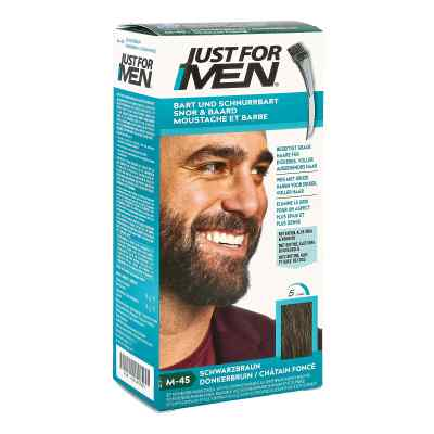 Just for men Brush in Color Gel schwarzbraun  bei vitaapotheke.eu bestellen