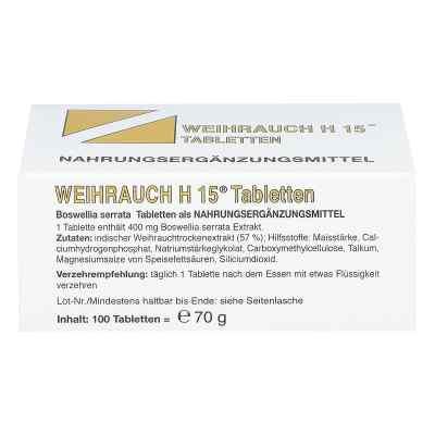 Weihrauch H15 Tabletten  bei apo.com bestellen