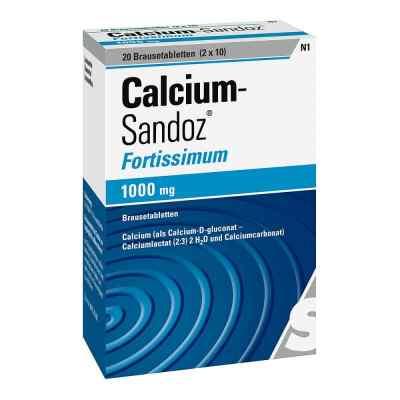 Calcium-Sandoz fortissimum 1000mg  bei apo.com bestellen