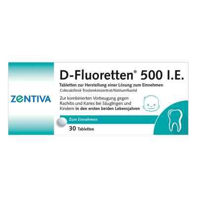 D-Fluoretten 500 I.E.  bei apo.com bestellen