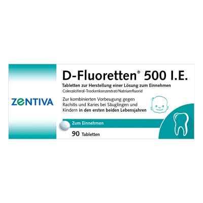 D-Fluoretten 500 I.E.  bei vitaapotheke.eu bestellen