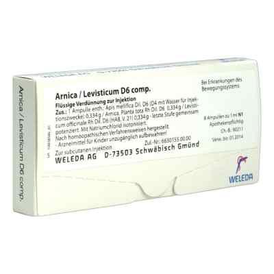 Arnica/levisticum D6 Comp. Ampullen  bei apo.com bestellen