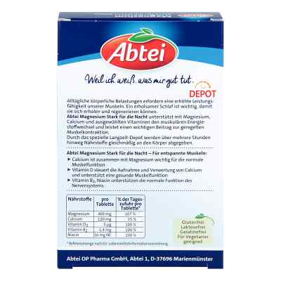 Abtei Magnesium Stark für die Nacht Depot Tabletten   bei apo.com bestellen