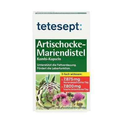 Tetesept Artischocke-Mariendistel Kombi-Kapseln  bei apo.com bestellen