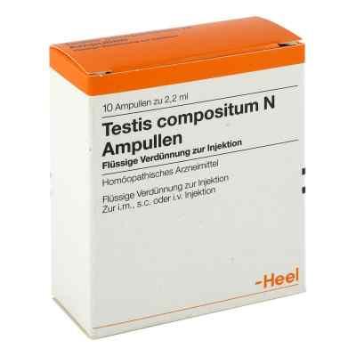 Testis Compositum N Ampullen  bei apo.com bestellen