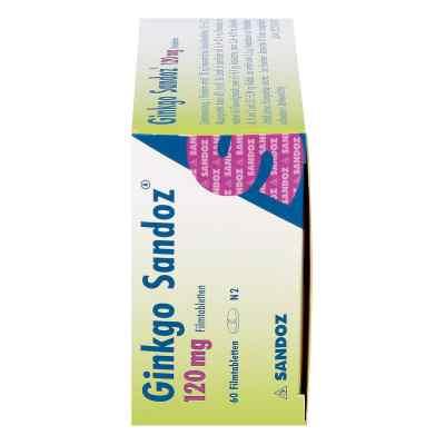 Ginkgo Sandoz 120mg  bei apo.com bestellen