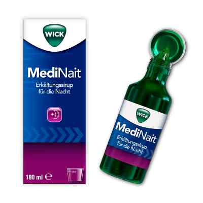 WICK MediNait Erkältungssirup für die Nacht  bei vitaapotheke.eu bestellen
