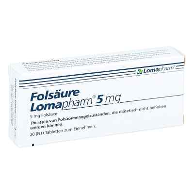 Folsäure Lomapharm 5 mg Tabletten  bei apo.com bestellen