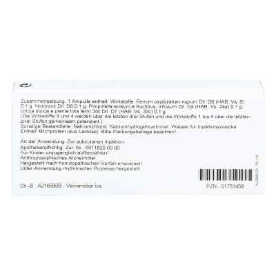 Ferrum Silicium Comp. Ampullen  bei apo.com bestellen