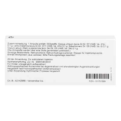 Hornerz/ Corpus Vitreum Comp. Ampullen  bei apo.com bestellen