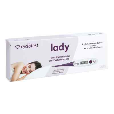 Cyclotest lady Basalthermometer  bei apotheke-online.de bestellen