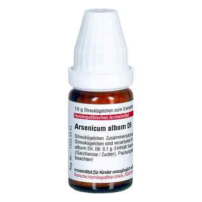 Arsenicum Album D 6 Globuli  bei apo.com bestellen