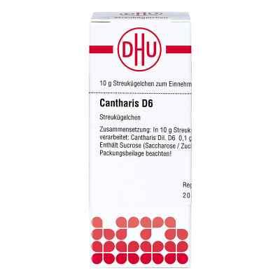 Cantharis D 6 Globuli  bei apo.com bestellen