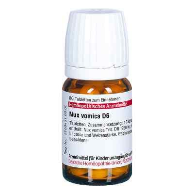 Nux Vomica D 6 Tabletten  bei apo.com bestellen