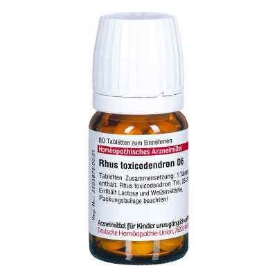 Rhus Tox. D 6 Tabletten  bei apo.com bestellen