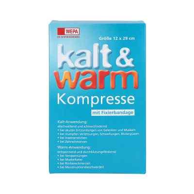 Kalt-warm Kompresse 12x29cm mit Fixierband  bei apo.com bestellen