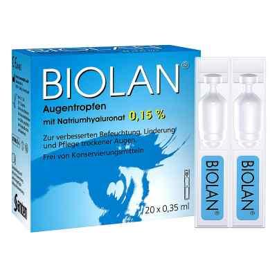 Biolan Augentropfen Einzeldosispipetten  bei apo.com bestellen
