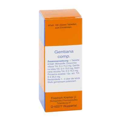 Gentiana Comp. Tabletten  bei apo.com bestellen