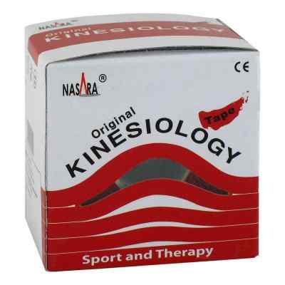 Nasara Kinesio Tape 5 cmx5 m rot inkl.Spenderbox  bei apo.com bestellen