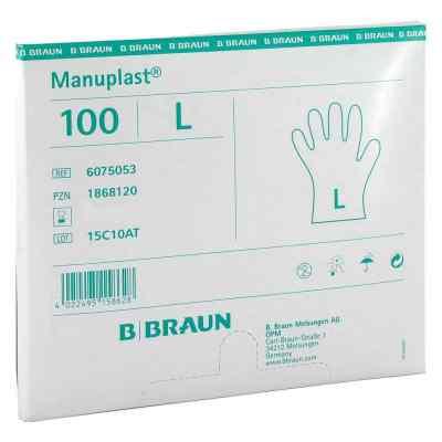 Manuplast Einmal Handschuhe gross, hell  bei apo.com bestellen