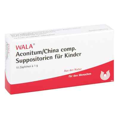 Aconitum/china compositus  Suppositorium  Kdr.  bei apo.com bestellen