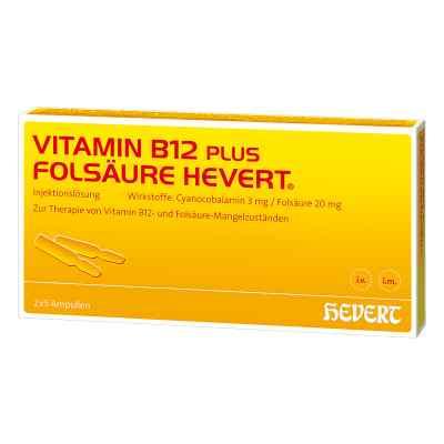 Vitamin B12 Folsäure Hevert Ampullen -paare  bei apo.com bestellen
