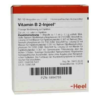 Vitamin B2 Injeel Ampullen  bei apo.com bestellen