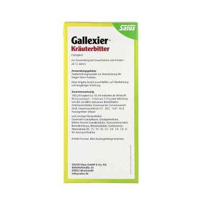 Gallexier Kräuterbitter Salus  bei apo.com bestellen