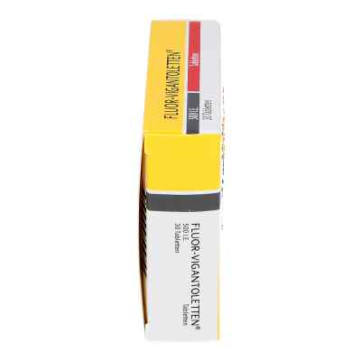 Fluor-Vigantoletten 500 I.E.  bei apo.com bestellen