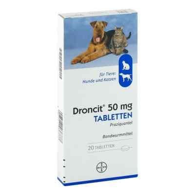 Droncit Tabletten für Hunde/katzen  bei apotheke-online.de bestellen