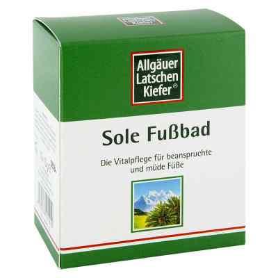 Allgäuer Latschenk. Sole Fussbad  bei apo.com bestellen