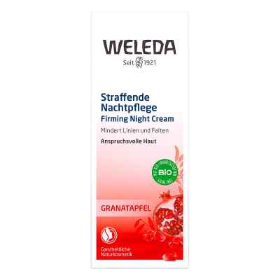 Weleda Granatapfel Straffende Nachtpflege  bei apo.com bestellen