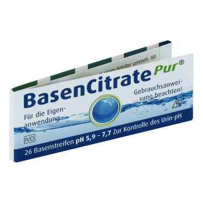 Basen Citrate Pur Teststr.ph 5,9-7,7 nach Apot.R.Keil  bei apo.com bestellen
