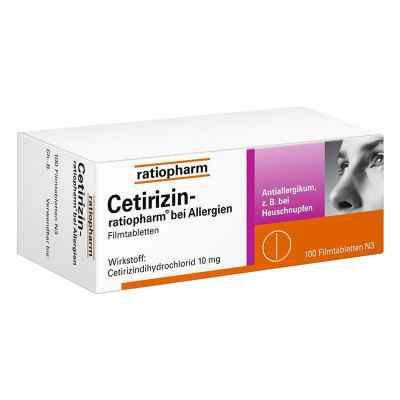 Cetirizin-ratiopharm bei Allergien  bei apotheke-online.de bestellen