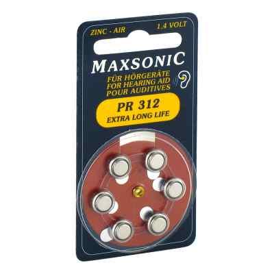 Batterien für Hörgeräte Maxsonic Pr312  bei apo.com bestellen