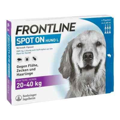 Frontline Spot on Hund 40 veterinär Lösung gegen Flöhe und Zecke  bei apo.com bestellen