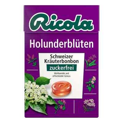 Ricola ohne Zucker  Box Holunderblüten Bonbons  bei apotheke-online.de bestellen