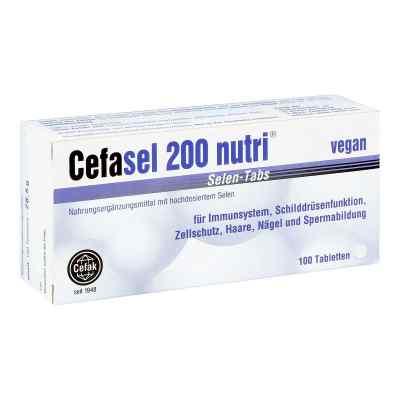 Cefasel 200 nutri Selen Tabs Tabletten  bei apotheke-online.de bestellen