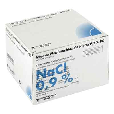 Isotone Nacl Lösung 0,9% Bc Plastik  iniecto -lösung  bei apotheke-online.de bestellen