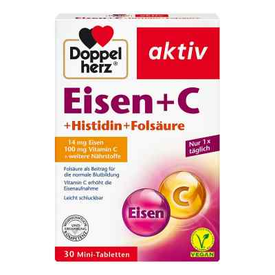 Doppelherz Eisen+vit.c+l-histidin Tabletten  bei apo.com bestellen