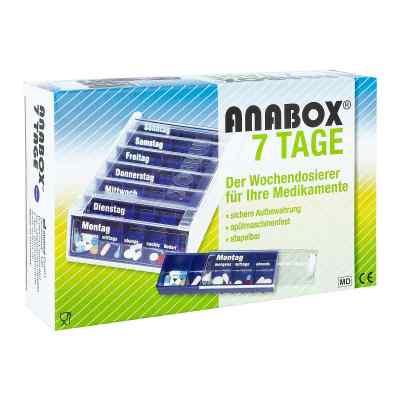 Anabox 7 Tage Wochendosierer blau  bei apo.com bestellen