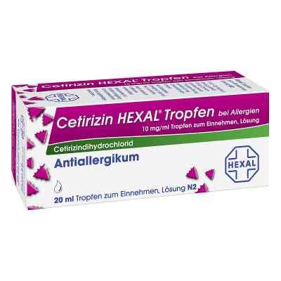 Cetirizin HEXAL bei Allergien 10mg/ml  bei apotheke-online.de bestellen