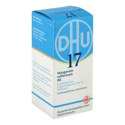 Biochemie Dhu 17 Manganum sulfuricum D6 Tabletten  bei apo.com bestellen