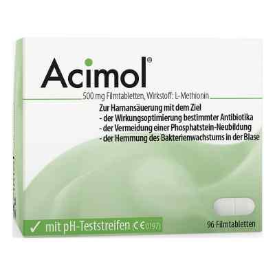 Acimol mit pH Teststreifen Filmtabletten  bei apo.com bestellen